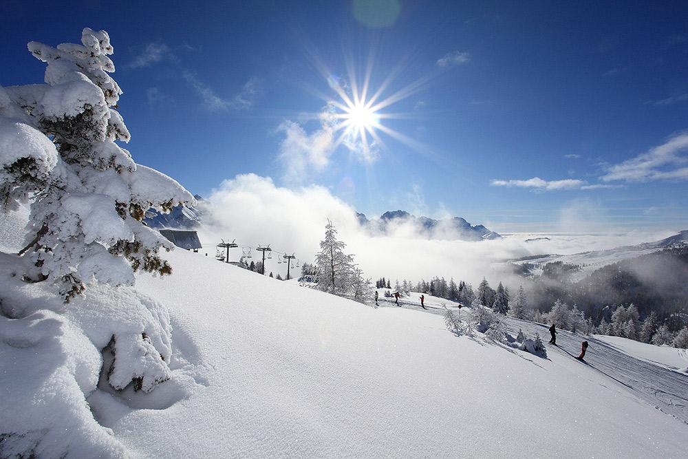 comunicare la destinazione turistica invernale