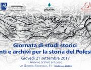 fonti e archivi per la storia del polesine