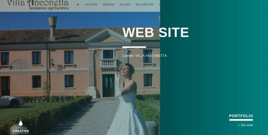 sito web villa anconetta